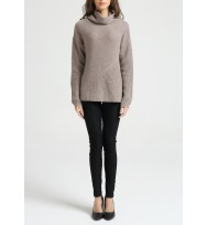 Engineering Ribs Cashmere Sweater
