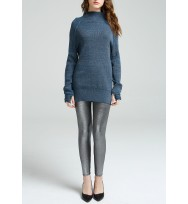 Engineering Ribs Raglan Wool Sweater