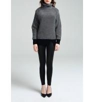 2-Tones Textured Cashmere Sweater