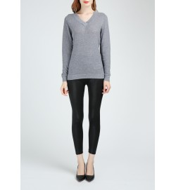 Texture Worsted Cashmere Sweater